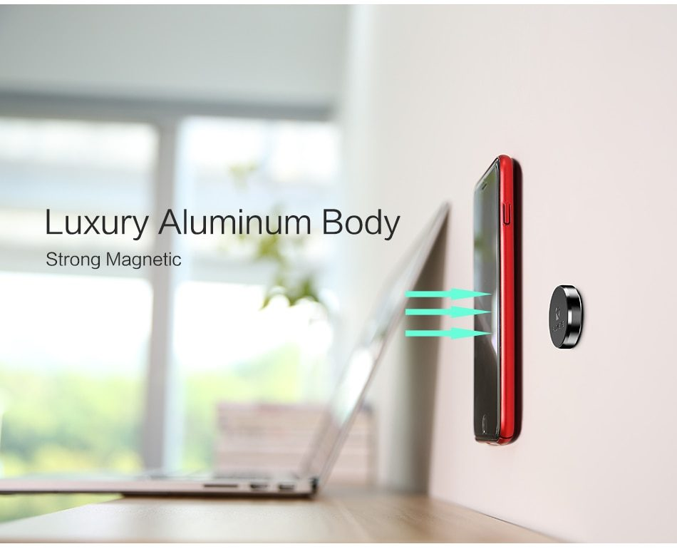 FLOVEME Magnetic Car Phone Holder For iPhone X Samsung Xiaomi Magnet Holder For Phone in Car Mobile Cell Phone Car Holder Stand