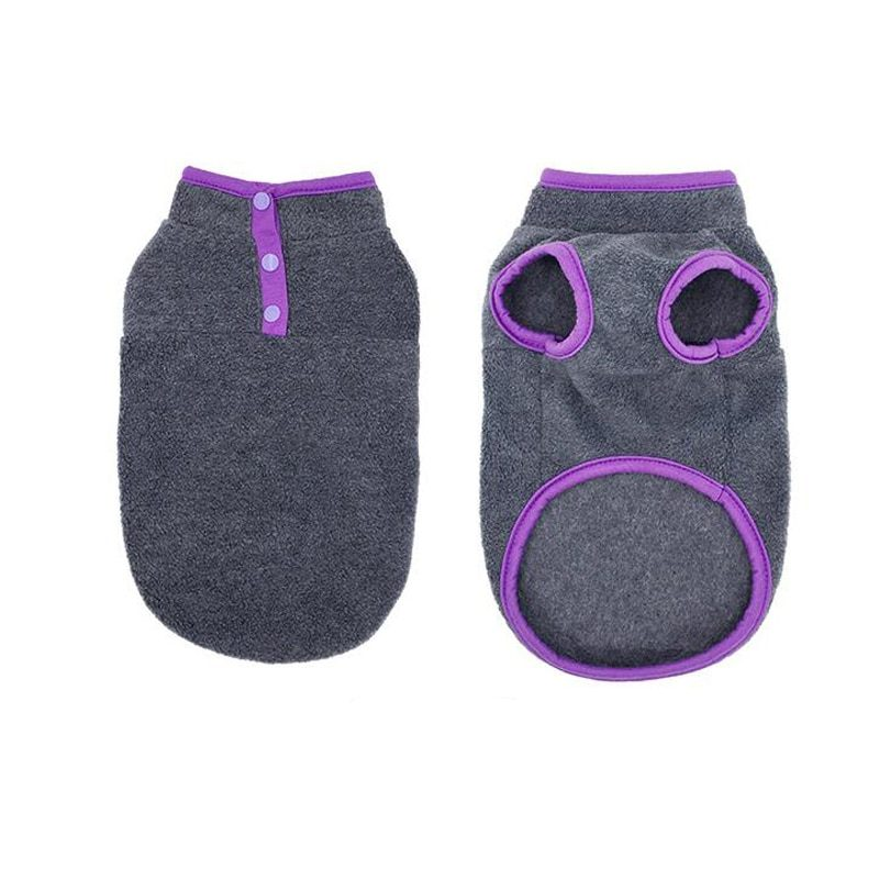 Fleece Dog Clothes For Small Dogs Spring Autumn Warm Puppy Cats Vest Shih Tzu Chihuahua Clothing French Bulldog Jacket Pug Coats