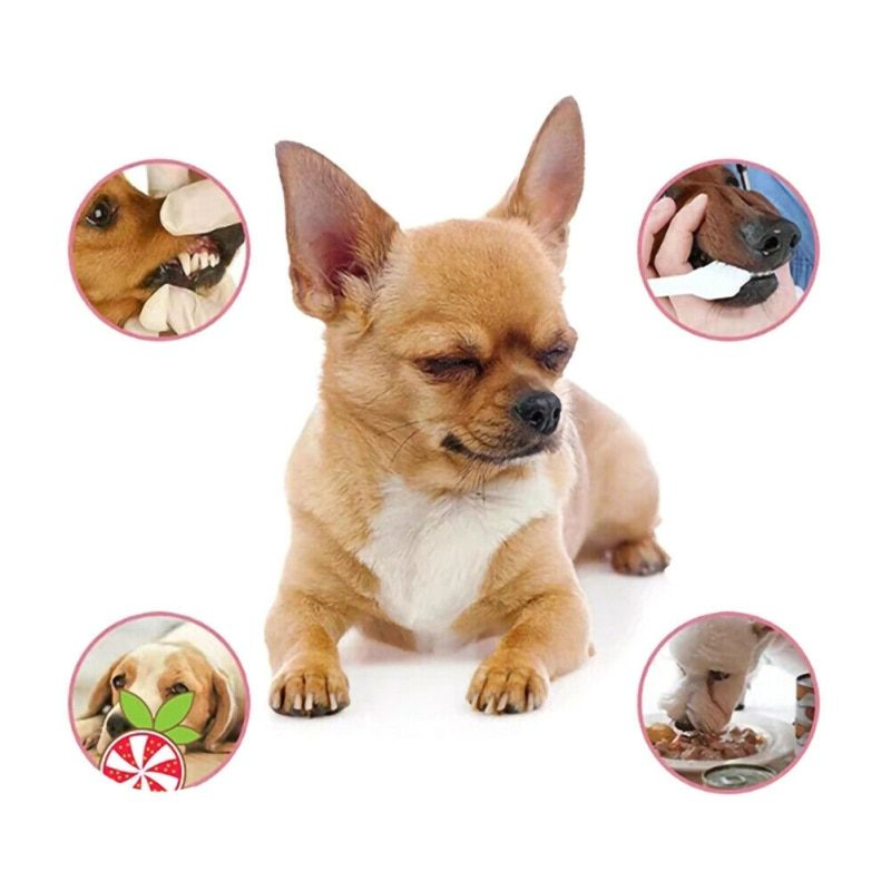 Pet Breath Freshener Spray Dog Teeth Cleaner Dog Cat Oral Healthy Care Pet Dog Cat Supplies Stain Odor Removers Cleaning 30ML