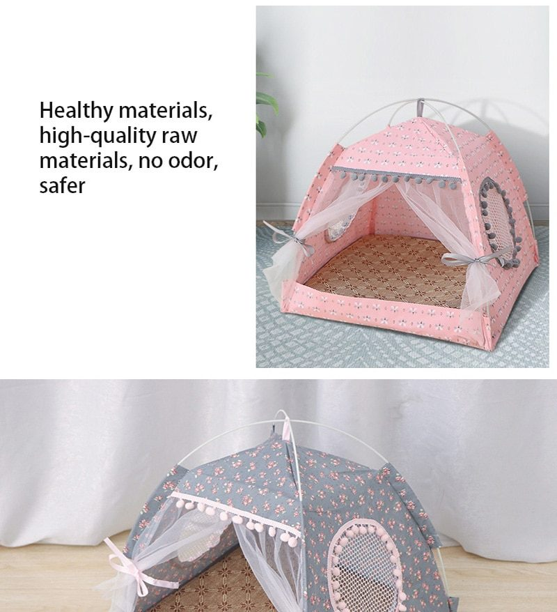 Pet products cat bed the general teepee closed cozy hammock with floors cat tent pet small dog house accessories products