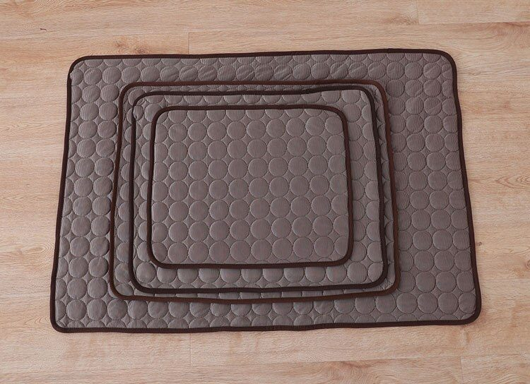 Dog Cooling Mat Summer Pad Mat For Dogs Cat Breathable Blanket Cat Ice Pads Washable Sofa Breathable Pet Dog Bed Pet Mat