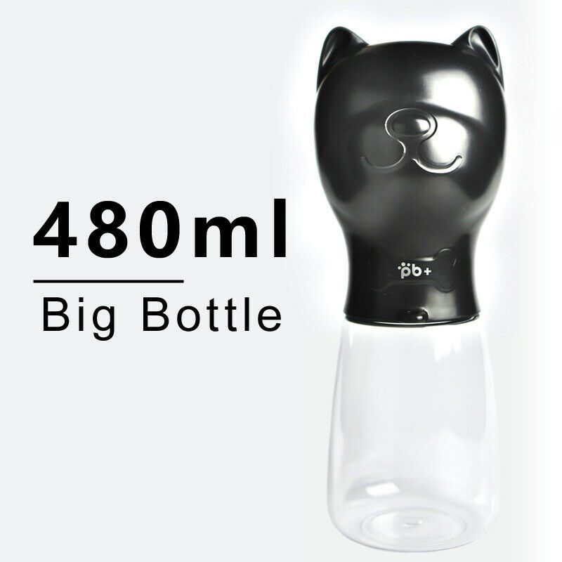 Lightweight Pet Cat Dog Water Bottle Feeder Drinking Bowl Dispenser With Leak Proof Lock For Dogs Drinking Food Grade Materials