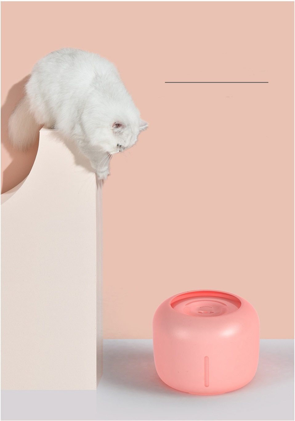 Pet Dog Cat Fountain Drinking Fountain 2.5L Automatic Drinker water Bowl Pet Dog Cats Electric USB Dispenser With 1 Filter Box