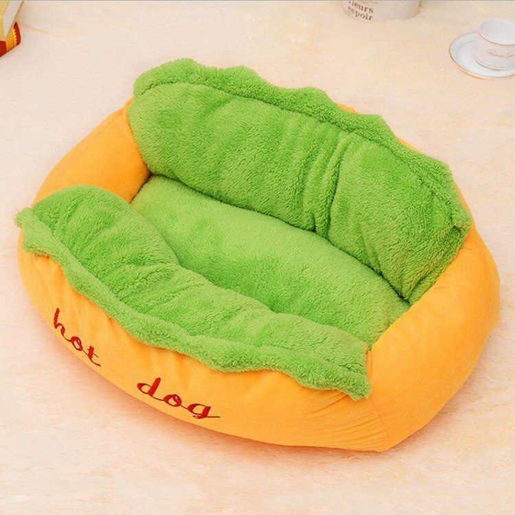 Hot Dog Bed various Size Large Dog Lounger Bed Kennel Mat Soft Fiber Pet Dog Puppy Warm Removable Washable Waterlon for Cats