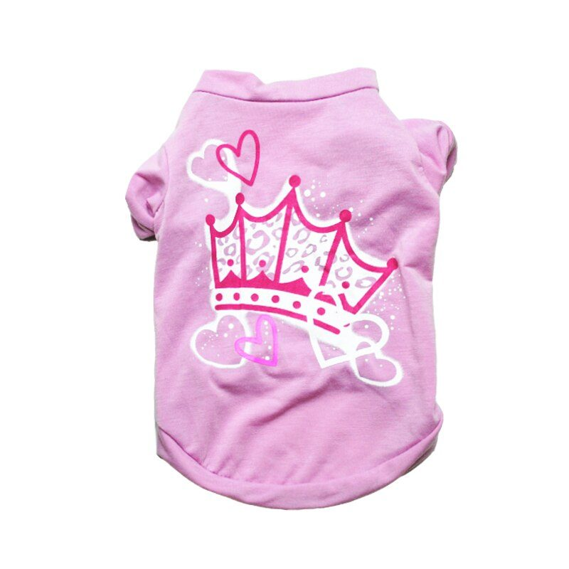 Cheap Dog Clothes Cute Dog Vest Shirt Pet Clothing for Dogs Costume Cotton Puppy Pet Clothes for Small Dogs Outfits Ropa Perro