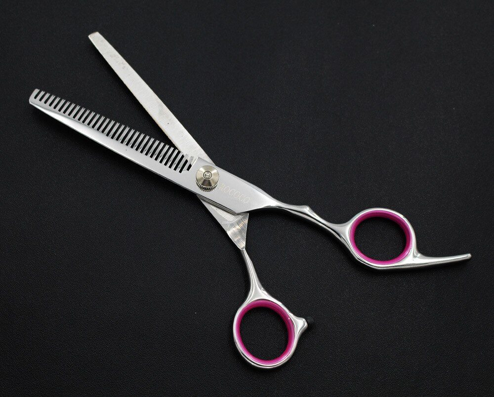 Professional Grooming Shears For Dogs Pet Hair Grooming Scissors Kit with Safety Round Tip