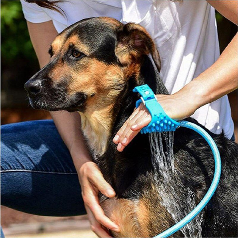 Pet Bath Sprayer Comfortable Massage Grooming Bathing Tool Handheld Shower Nozzle Pet Supplies for Dogs Cats Dropshipping