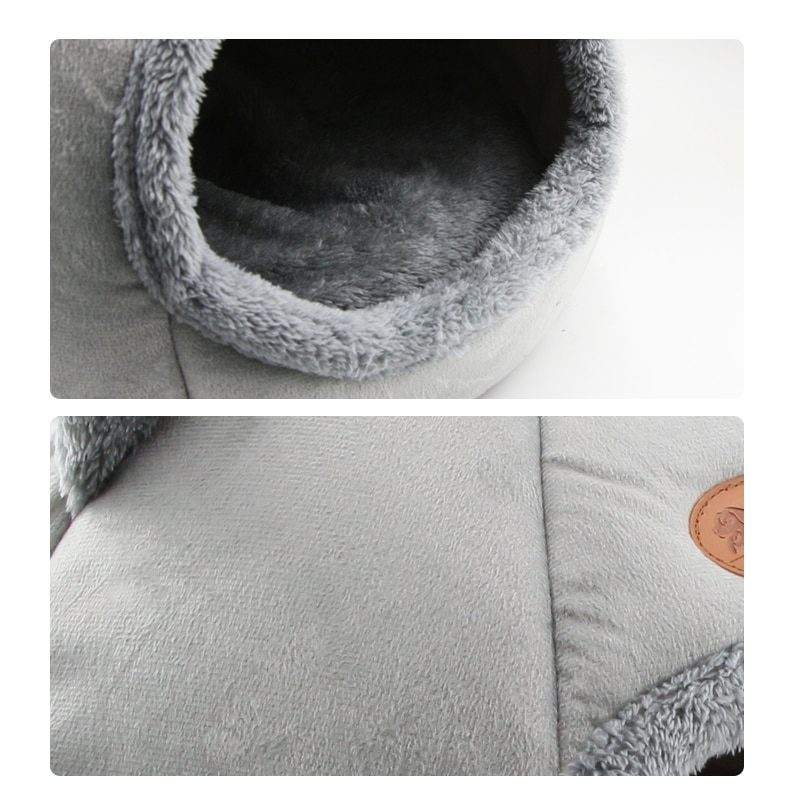 New Deep sleep comfort in winter cat bed little mat basket for cat's house products pets tent cozy cave beds Indoor